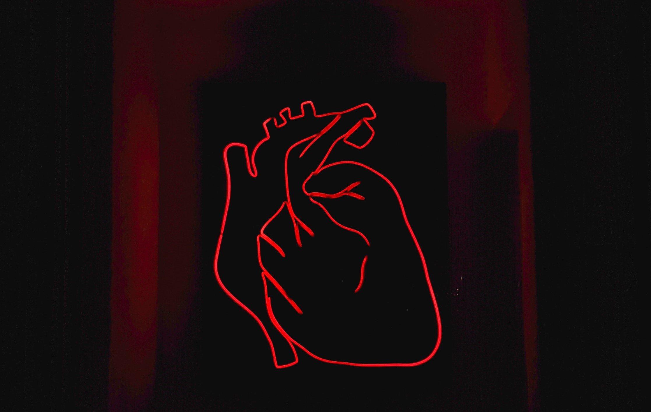 ضمور القلب